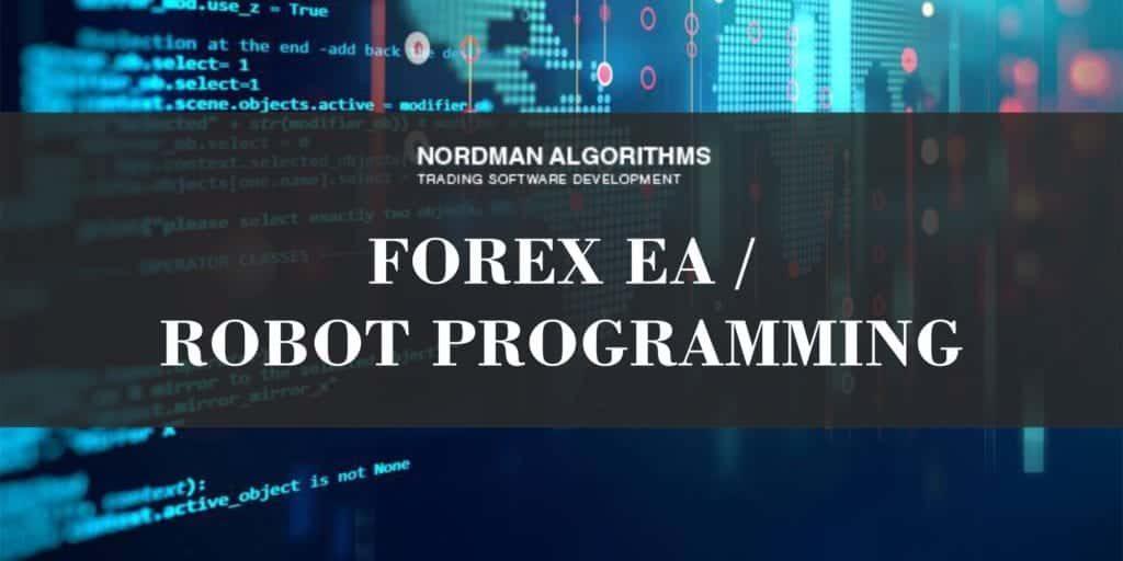 Forex robot programming